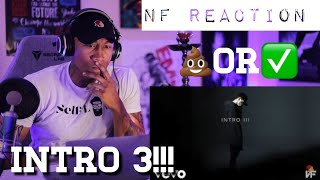 TRASH Or PASS! NF (Intro 3) [REACTION!!]