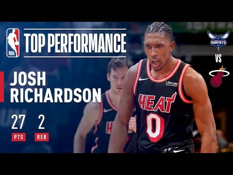 Josh Richardson Scores a CAREER-HIGH 27 Points vs. Hornets | December 1, 2017