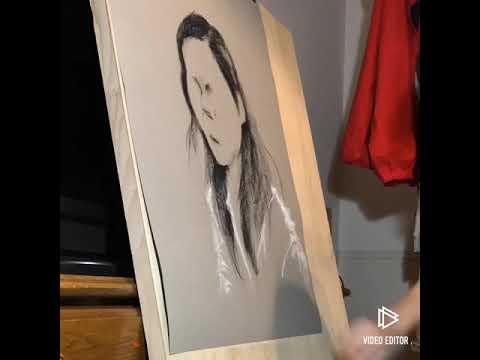感動の似顔絵アートならお任せを!ます パステルを使って、パリの絵描きのような作品に仕上げます! イメージ1