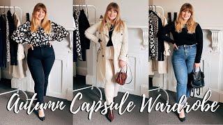 Midsize Autumn / Fall Capsule Wardrobe  | Lily V Sugar