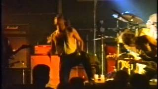 Angel Dust (Full show) - Blessed Death (part 1) Live @ Scum Katwijk Holland 1988