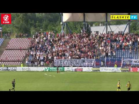 WIDEO: Polonia Bytom - Siarka Tarnobrzeg 1-0 [SKRÓT MECZU]