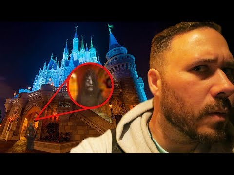 Ghost Hunting At Disney World At 3AM!