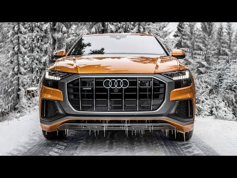 Can the 2019 AUDI Q8 50TDI handle the SNOW AND ICE?? - Dragon orange beast in details