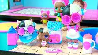 Куклы Лол Мультик! Дом с мебелью для Пупсов Лол! Lol Surprise BABY DOLL HOUSE Видео для детей