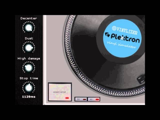 VINYLIZER vinyl simumator by Plektron