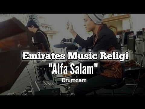 Alfa Salam | Wafiq Azizah | Drumcam