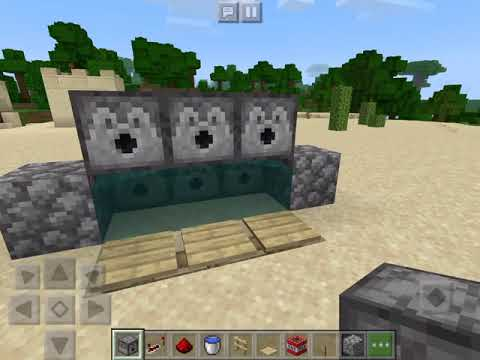 HOW TO MAKE A WORKING RAPID FIRE TNT CANNON IN MCPE|Minecraft Pocket Edition