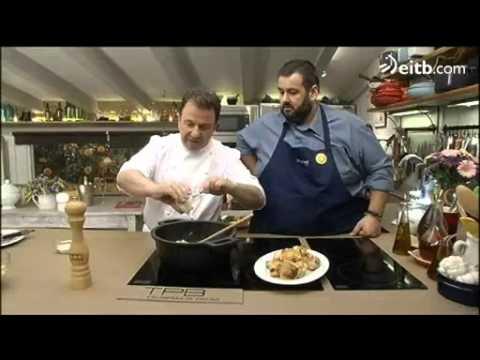 La última receta de David de Jorge y Martin Berasategui