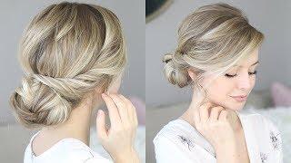 HOW TO: EASY BUN TUTORIAL 👰🏼 Bridal, Wedding Hair