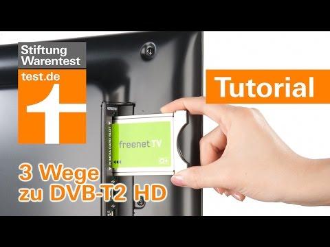 Tutorial: DVB-T2 HD Empfang - so geht's