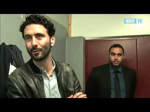 Alexandre Ruiz parrain de l'Us Créteil Futsal