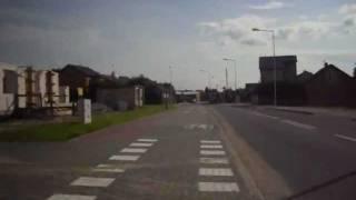 preview picture of video 'Droga rowerowa - ul. Kaczyńska - Ostrołęka cz. 2'