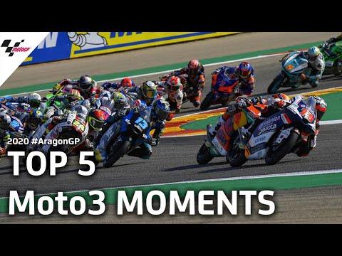 Moto3 ハイライト動画!MotoGP アラゴンGP 決勝レース