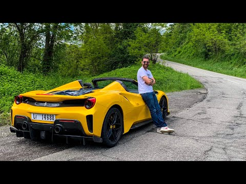 Ferrari 488 Pista Spider - Pavarotti In Your Living Room!