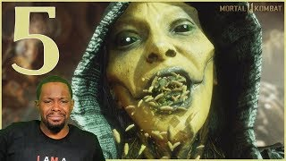 The WORST Kiss In Not So Human History! (MK11 Story Chapter 5)