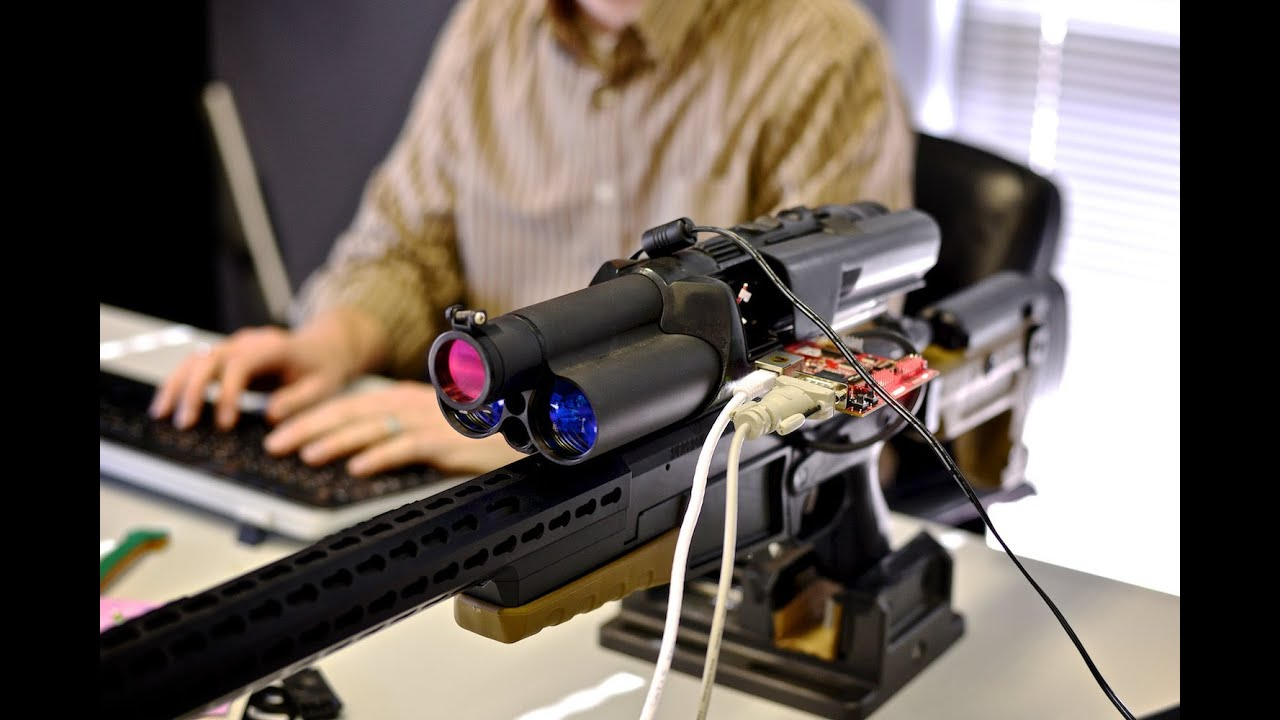 Digital Tracking Rifle Scope Only Shoots When Your Target Is In Your Sights