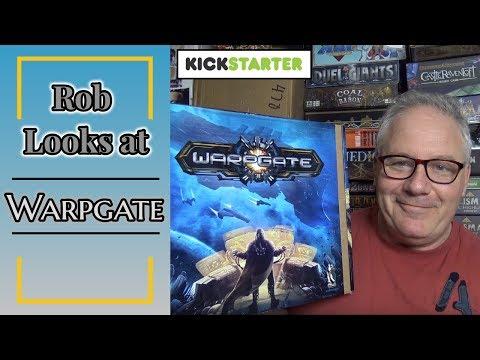 Kickstarter Preview - Rob Looks at Warpgate