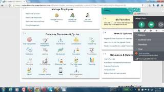 SAP Successfactors Employee Central Online  session