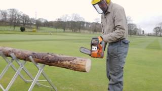 How to cut logs safely with a chainsaw - Which? guide