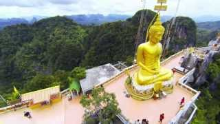 preview picture of video 'Tiger Cave Temple (Wat Tham Suea), Krabi Thailand'