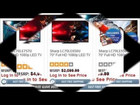 70 inch Sharp LED TV Black Friday