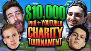 $10,000 Charity Rocket League Tournament - Jonsandman/Lethamyr VS Mertzy/Jessie #1