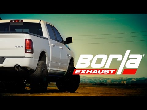 2009 2018 ram 1500 cat back exhaust system touring part 140553bc