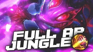 MAKING ENEMIES AFK WITH FULL AP FIZZ JUNGLE - League of Legends Gameplay