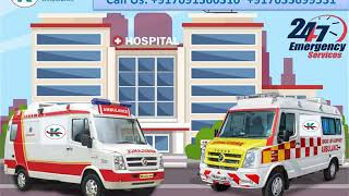 Take Finest Ambulance Service in Lalpur and Nagra Toli by King