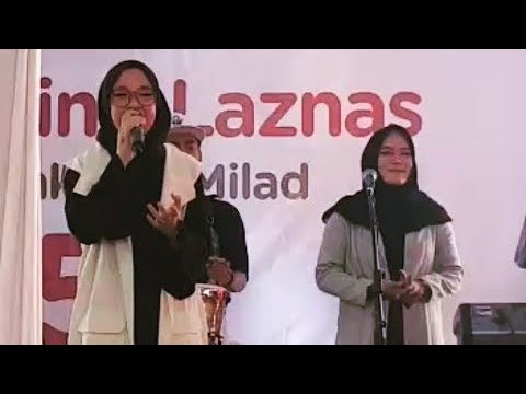 NISSA SABYAN MERIAHKAN LAUNCHING LAZNAS PPPA @DAARUL QUR'AN.