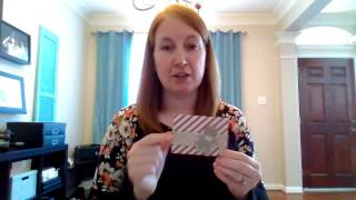 How To Make A 5 Minute Gift Card Holder Using Stampin Up! Scrapbook Paper