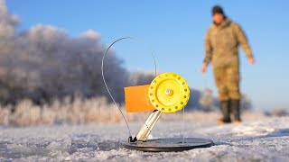 Вышел на рыбалку за щукой в -20. Зимняя рыбалка на жерлицы.