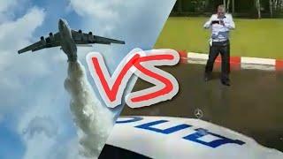 Ил-76 vs ДПС! Кошмар б...!