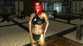 The Elder Scrolls V: Skyrim - Inner Wear Set For CBBE V3 Mod