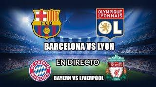 BARCELONA VS LYON DIRECTO | CHAMPIONS LEAGUE 2019