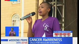 CANCER AWARENESS: Kenyans have been asked to do a regular screening for cancers