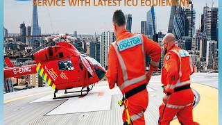 Get Best Air Ambulance Services from Kolkata to Delhi by Hifly ICU