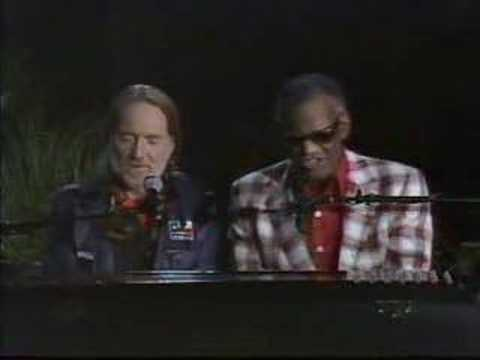 Willie Nelson - Ray Charles - Georgia on my mind
