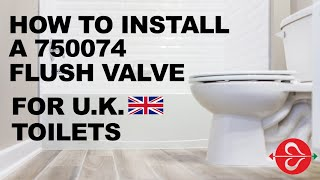 750074 Flush Valve with Lever Control