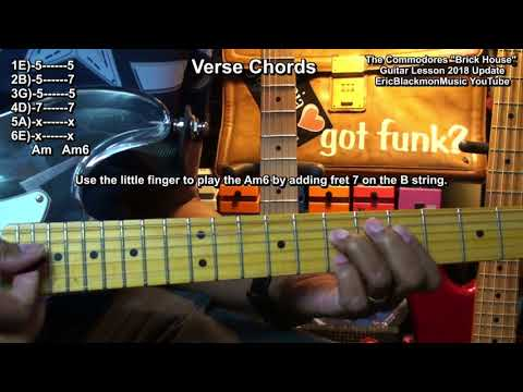 How To Play Brick House The Commodores On Guitar 2018 Update