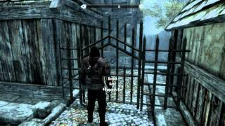 Skyrim - Parkour and Free Running/w commentary