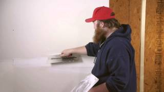 How To Finish Drywall With Two Or Three Coats : Drywall Work