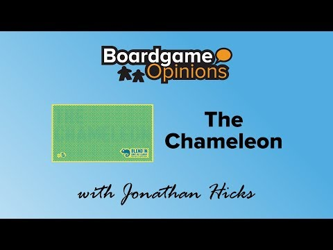 Boardgame Opinions: The Chameleon