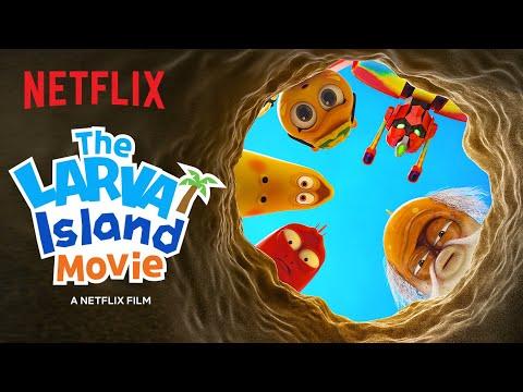 The Larva Island Movie Trailer 🏝️ Netflix Futures