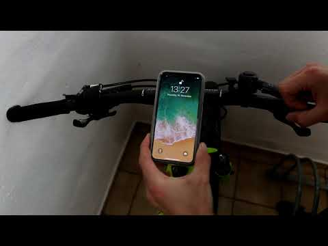 Quad Lock for iPhone X Mountainbike test