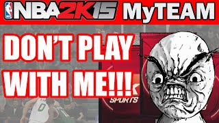 DON'T PLAY WITH ME! - NBA 2K15 MyTeam Pack Opening: Ruby All Time Scorer Packs