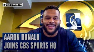 Aaron Donald felt like it was a home game when the Rams played at Heinz Field | CBS Sports HQ