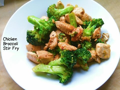Video My Recipe | A Delicious Chicken Broccoli Stir Fry