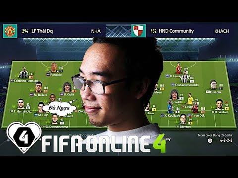 """FIFA ONLINE 4   Bình Be Vs Thái Đq & Đức Hiếu: """" CỤ EUSEBIO """" Chạy Như BAY Cùng ĐỘNG CHỦ"""